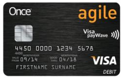 Once Agile Card