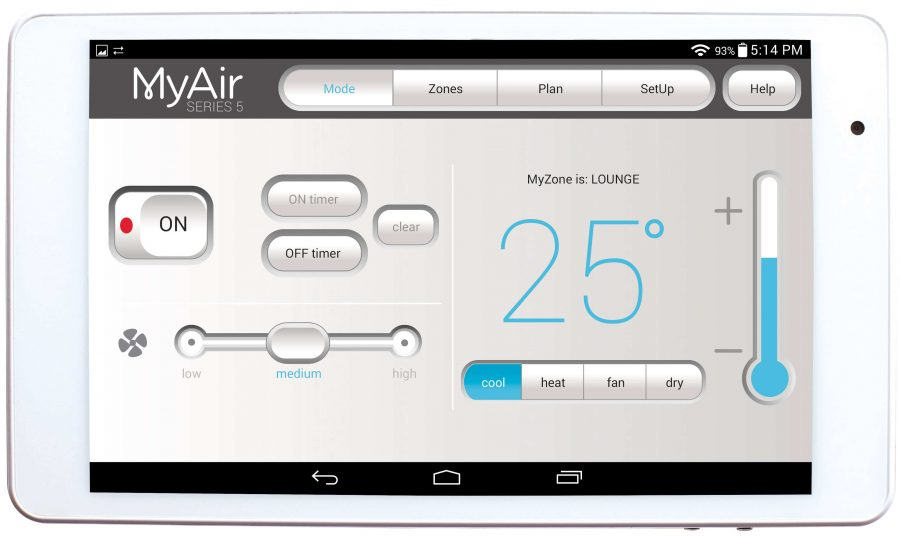 MyAir 5 tablet